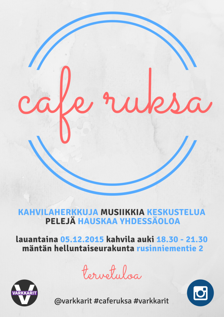 Varkkarit: Cafe Ruksa