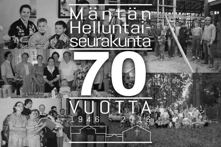 Mäntän Helluntaiseurakunta 70 vuotta